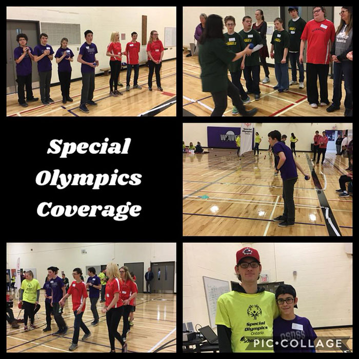 Special Olympics coverage